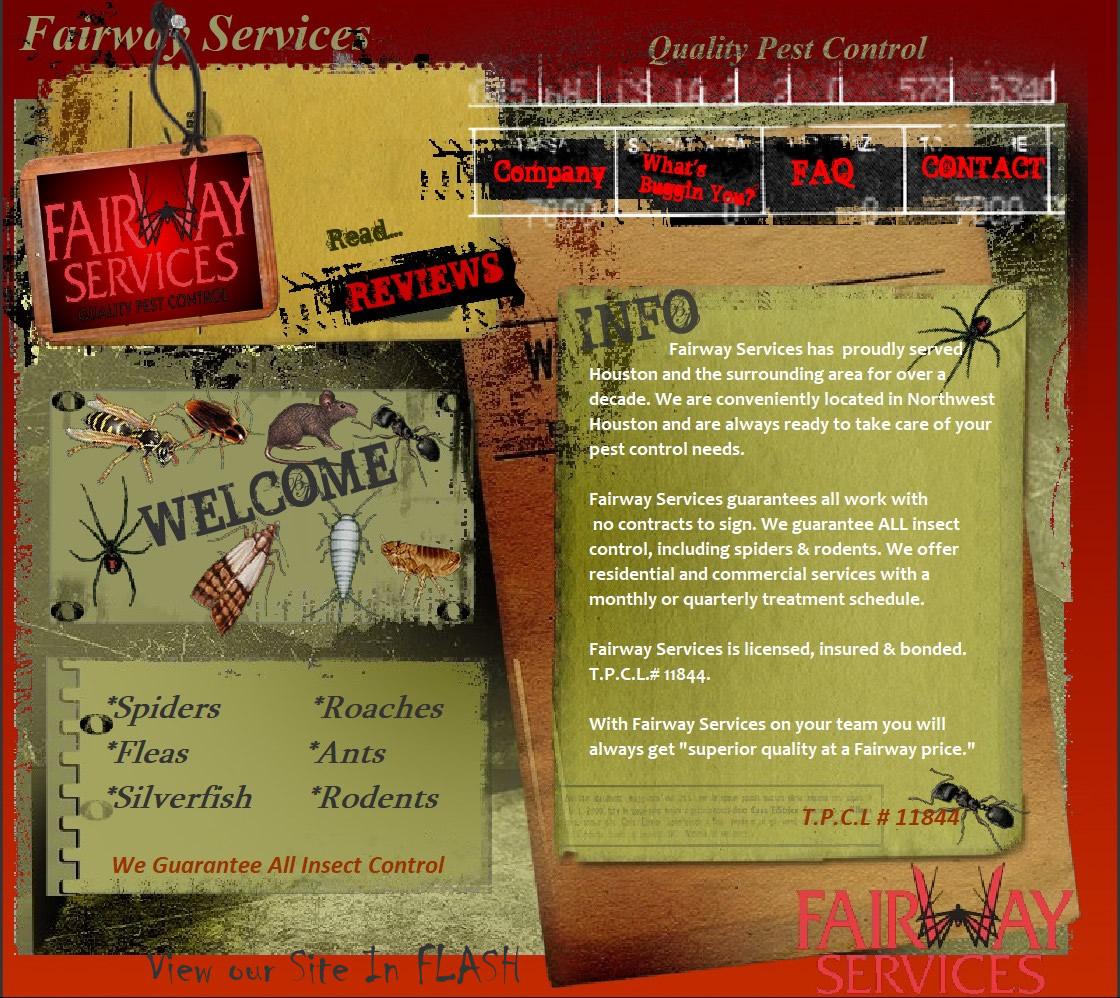 Pest Control Cypress Tx No Contract Fairway Services